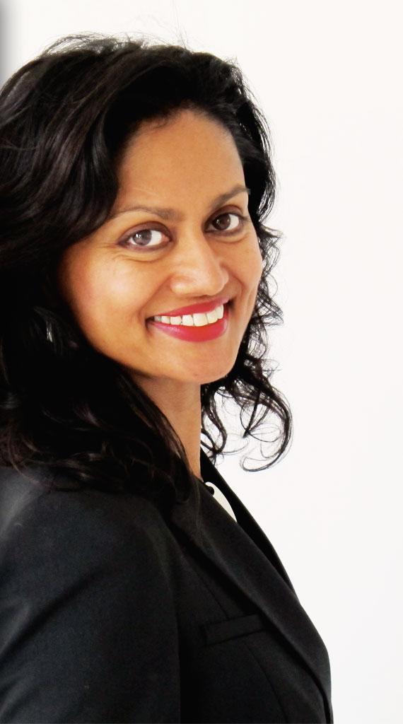 Portret Gladys Nurmohamed